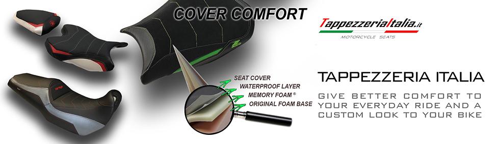 Ducati Multistrada 1200 2010-2011 Tappezzeria Italia Comfort Foam Seat Cover New